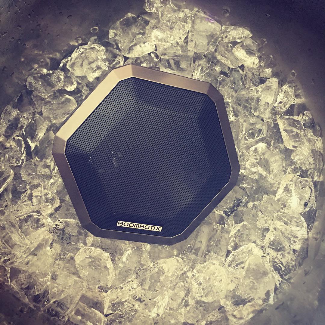 Iced out #boombotpro #ballin #ontherocks #tgif