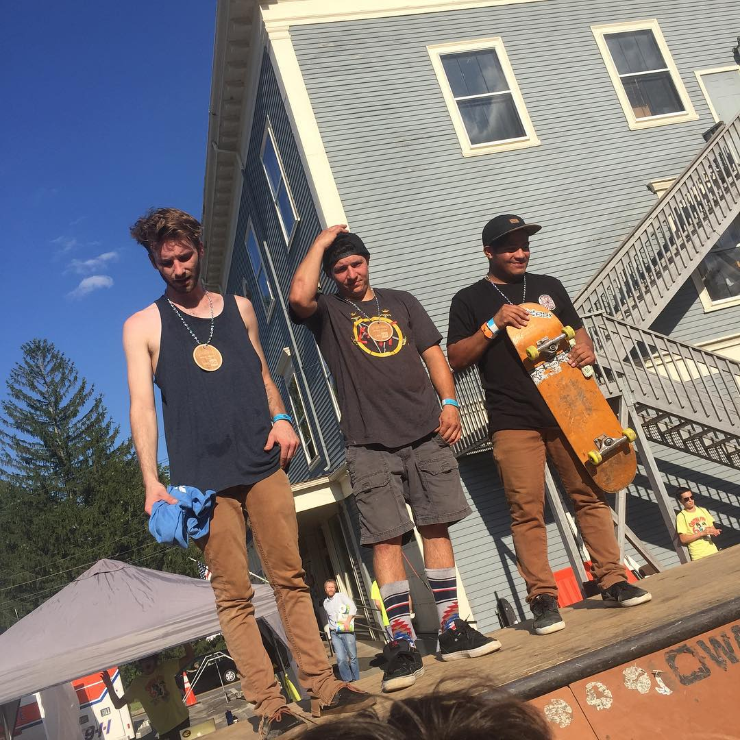 Podium shot from #Centralmass6 ramp jam!