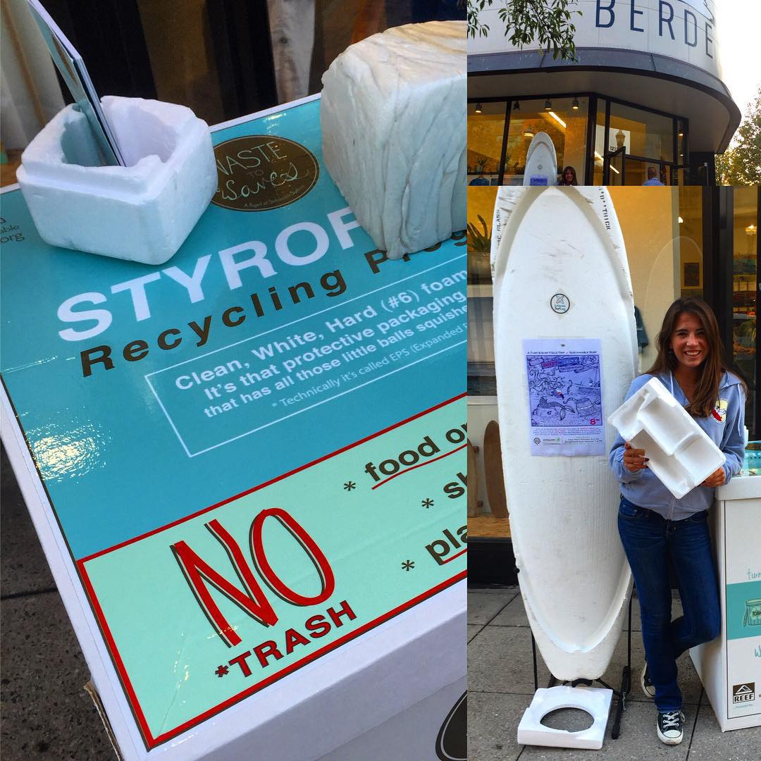 One night only folks! Santa Cruz once again has a drop off spot ( thanks! @berdels) for styrofoam packaging waste that gets turned into surfboard blanks via the #WasteToWaves program ! So come on down to Downtown SC where the party never stops,  and...