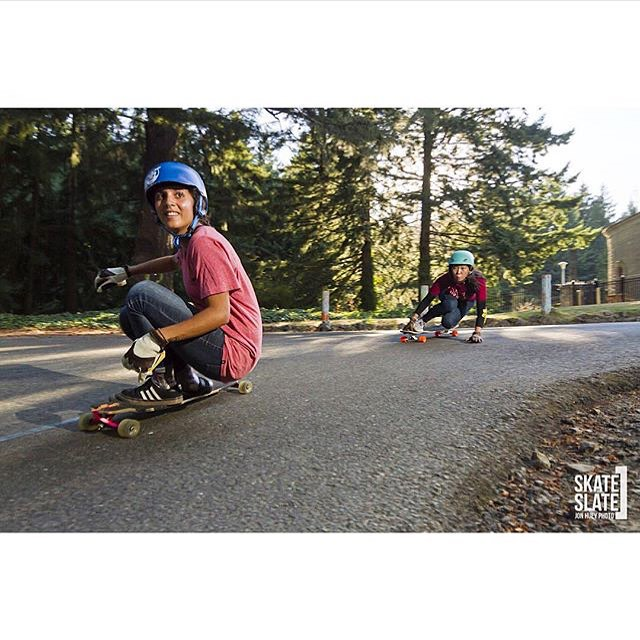 @iamcindyzhou July's Ms. Monthly column on @skateslate is out! Go to our Fb or Twitter profiles to check it out.  @honjuey photo.  #longboardgirlscrew #womensupportingwomen #girlswhoshred #skatelikeagirl #cindyzhou #carlajavier