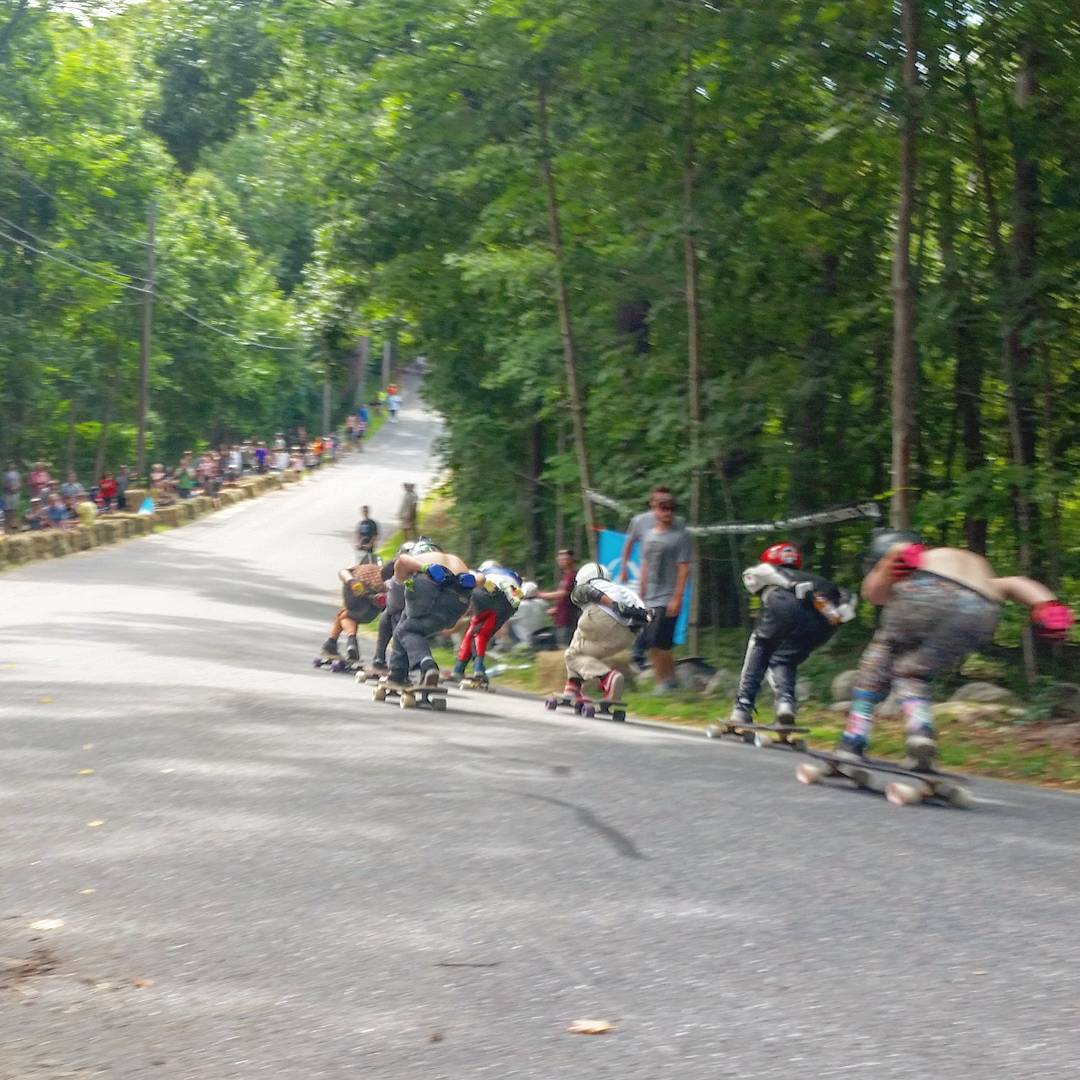 Pack runs are dense and fast at #CentralMass6 this year. Heats have been close in every division this year, a clear sign that the previous years of #CM6 are breeding faster and better downhill skaters while still bringing new riders for their first...