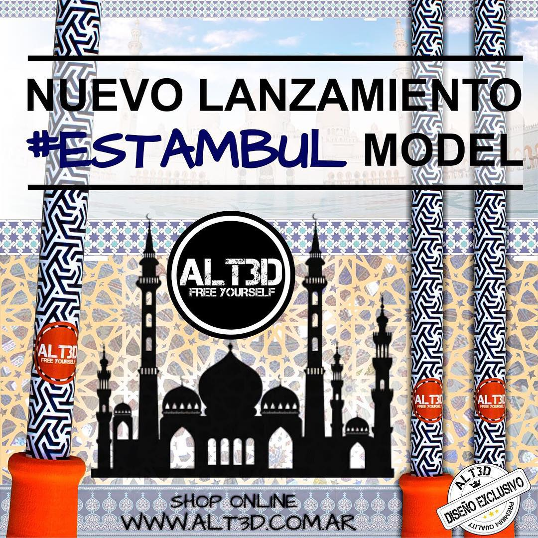 ESPECTACULAR LANZAMIENTO #ESTAMBUL MODEL, EXCLUSIVO @alt.3d !!!