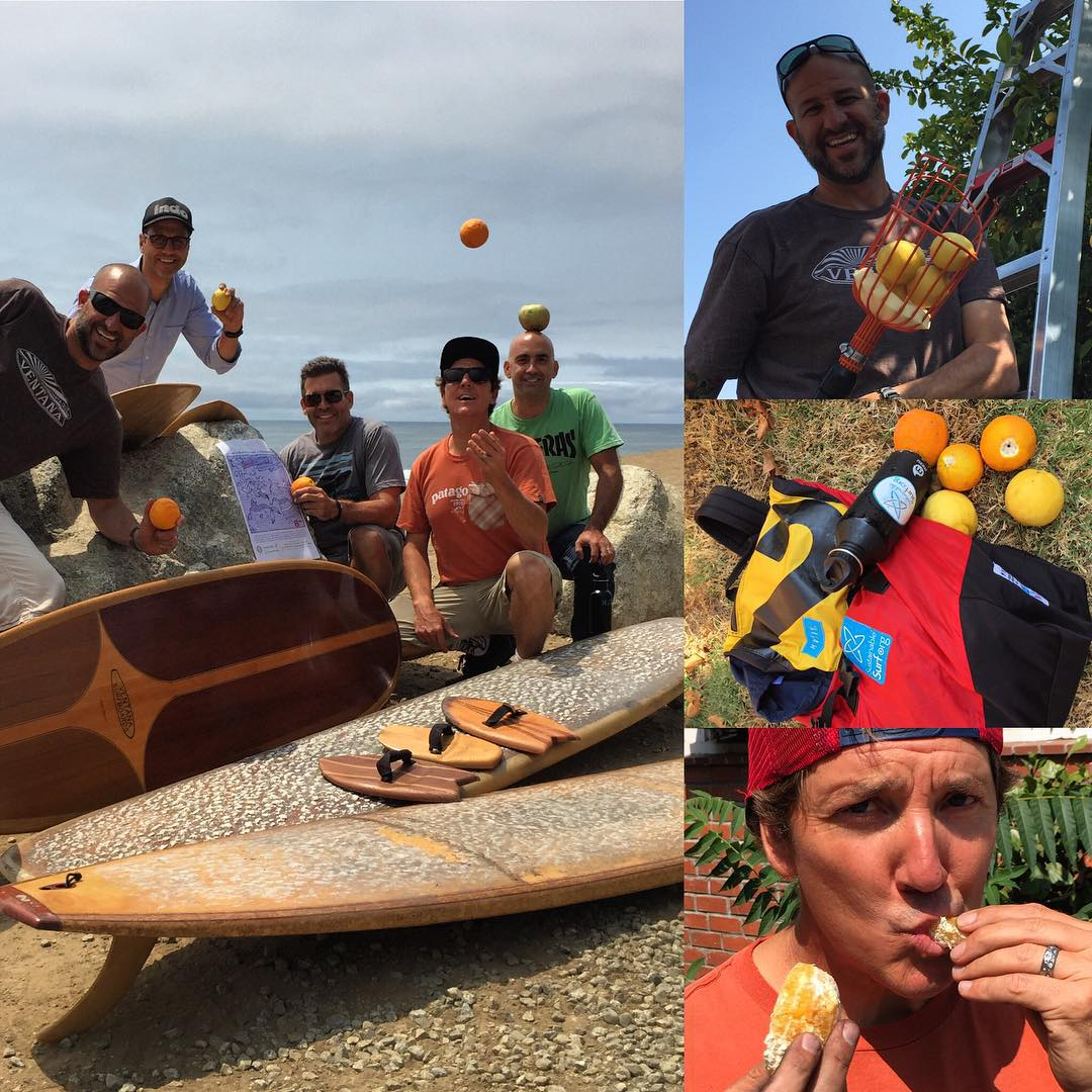 The #Sweet&Salty Sessions have indeed been both today, as we harvested oranges and lemons today from well over head trees with the crew from Garden to Table Farm in downtown San Jose. And we are now at Waddell Creek sampling the overhead sets on all...