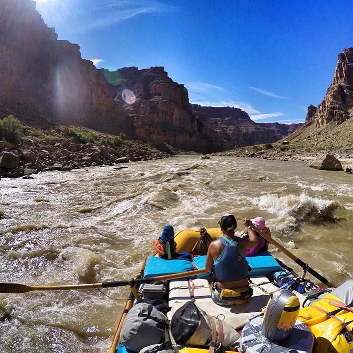 Typical Morning Commute. Welcome to my Office ❤️ @oars_rafting  PC: @sehsa