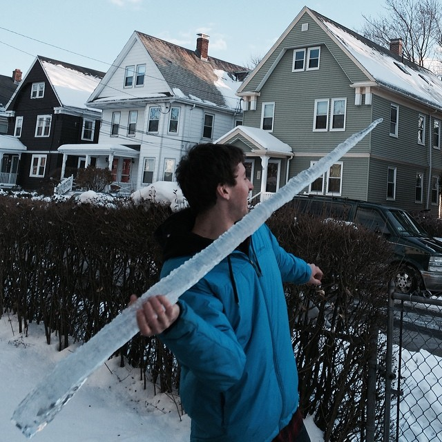 Icicle javelin... Coming to South Korea for the 2018 Winter Olympic Games. #olympics #roadfromsochi