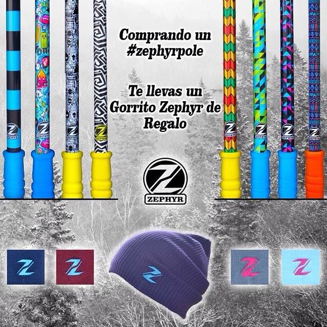 Aprovecha esta oferta hasta el Viernes 14 de Agosto!!! Comprando cualquier #ZephyrPole (Short/Mid/Large) te llevas un Gorrito de regalo!! - Encontra esta oferta en nuestra Tienda Online!