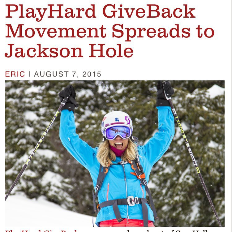 Click the link in our bio! Great write up on what we've been up to|| @tetonbrown and @hotelterra teaming up along with @jmcmillan and The Rusty Parrot Lodge #PHGB #travel #hotels #jointhemovement @protectourwinters #giveback
