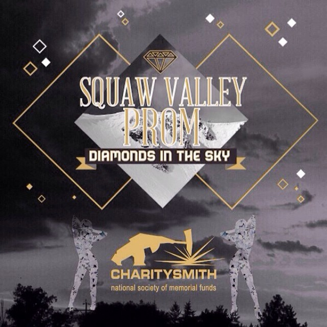 Celebrating 10 years of hosting the #SquawValleyProm, thank you CHARITYSMITH! Get your tickets for the 2014 event on Feb. 22 at @squawvalley at (squawvalleyprom.com) #DiamondsInTheSky