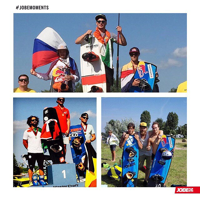 The 2015 IWWF European wakeboarding championship has come to its end with great results for the Jobe team!  @marckroon1 – 3rd Open Men @aurelien_dolhet – 3rd Masters @rutgerbergman – 6th Junior men