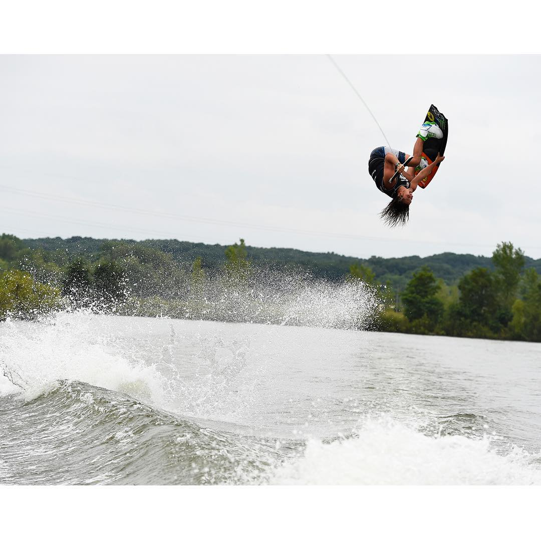 """Don't ever forget why you started. Always do it for the fun and love!  Wakeboarding is a blessing and I'm stoked that I can call this my 'job.'""-@HarleyClifford #MondayMotivation ("