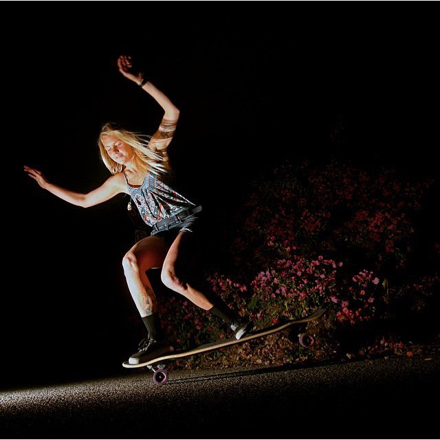 Happy birthday to the one & only @amandapowellskate The Commander!! Thanks for the constant inspiration Mander, skate & spiritual wise. We love you to the moon.  @adamstokowski photo.  #longboardgirlscrew #womensupportingwomen #girlswhoshred...
