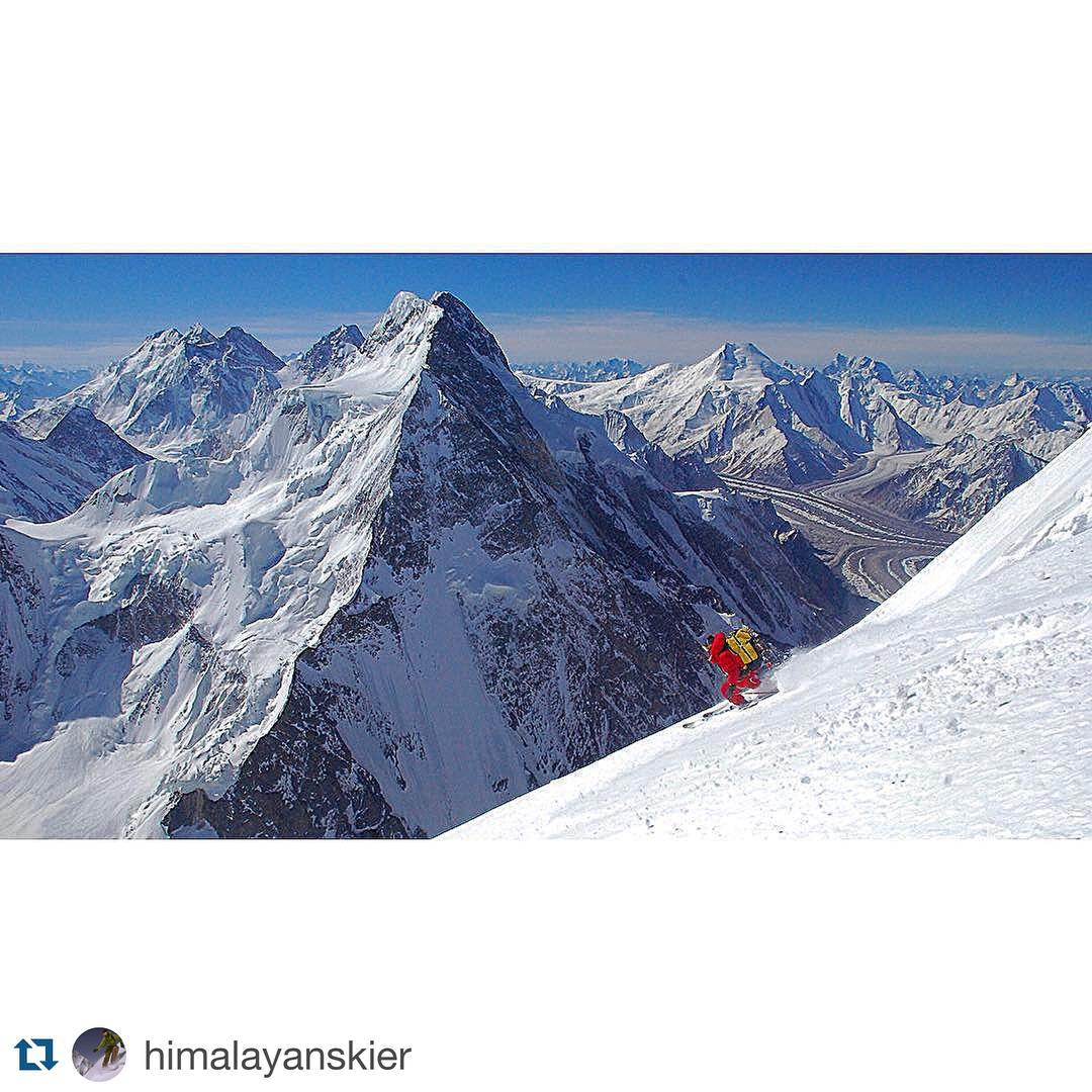 Just over six years ago Dave Watson completed the first descent of the Bottleneck Couloir on K2. Today @himalayanskier patrols at Mt. Hood and generally just crushes it around the PNW. #dpsskis #backcountry #mountaineering #skiing