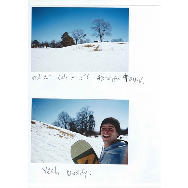 A couple of scans from #coalheadwear ambassador @ryanpaul____. It's rumored he has a zany part in the new @think_thank movie, Methods of Prediction. WORLD PREMIER tonight at Sandy Cinema.