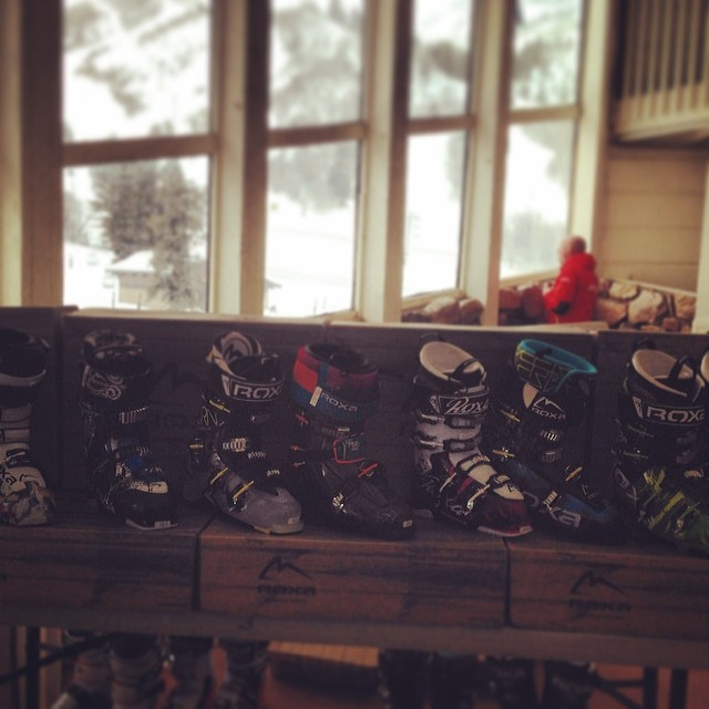 14/15 lineup is ready to roll at @snowbasinresort. Come take a pair out for a rip today or tomorrow! #wwsra