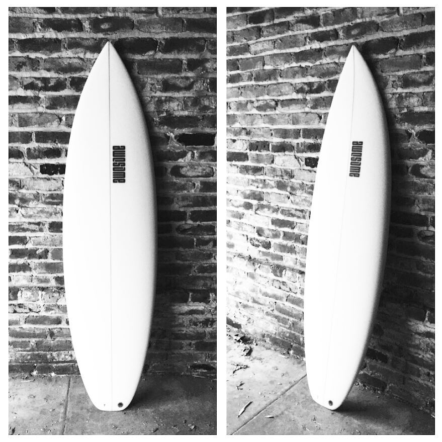 the Standard. 2015 template. 5'11 x 19 x 3 5/16 with 27.5 L #awesome #awesomesurfboards #shredsled#surfing #surfboards #surfboard