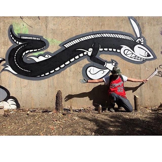 @ruffhousearts • • #atx #austintx #tx #texas #spratx #ruff #ruffhouse #grafite #graffiti #streetart #art #paint