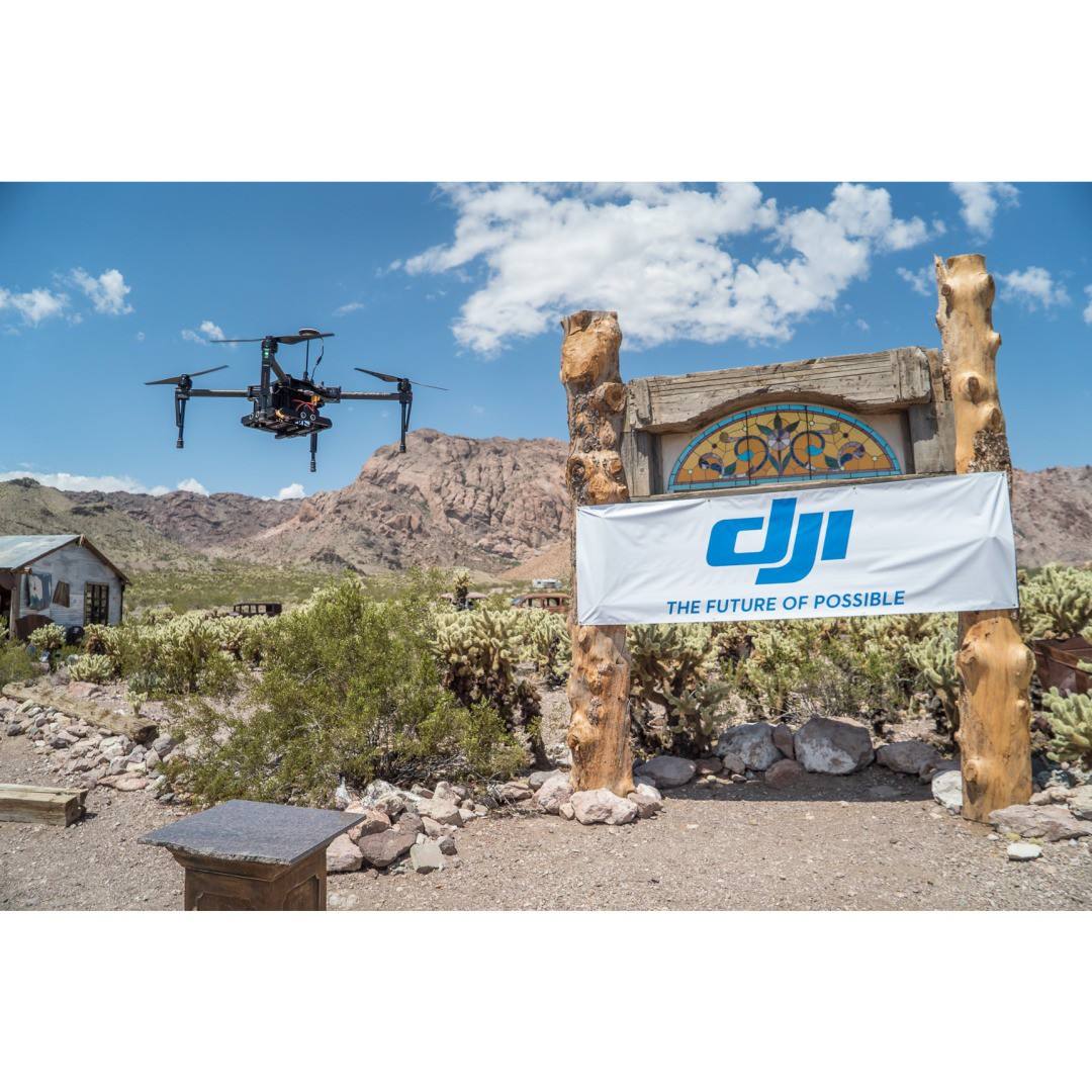 "It must be Photoshop World time because #DJI was with ""Rawhide"" Russell Brown and friends to share the joy of flight and socialize at the Nelson Ghost Town in Nevada. Using such DJI products such as the #Phantom3 and the #M100, everybody received tips..."