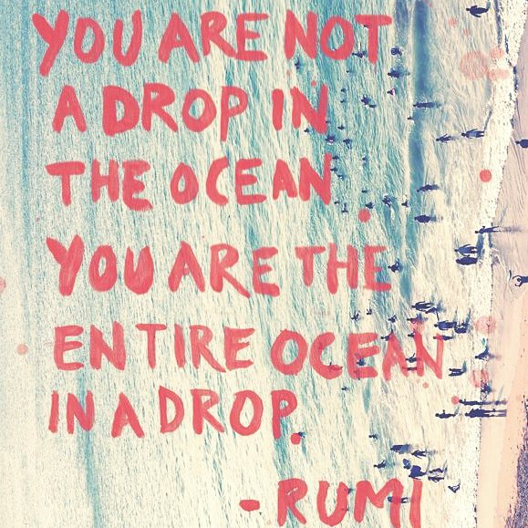 YOU ARE MORE || why just dip a toe in the surface when you can swan dive straight into the deep end. #luvsurf #loveyourself #explore  #empower #rumi