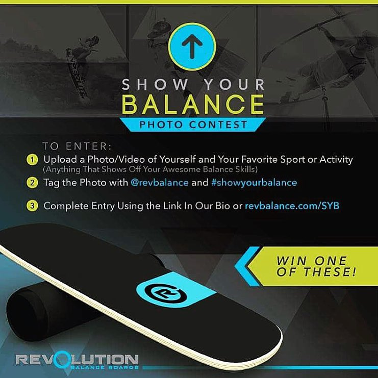 Last few days of our #revbalance  #showyourbalance contest!