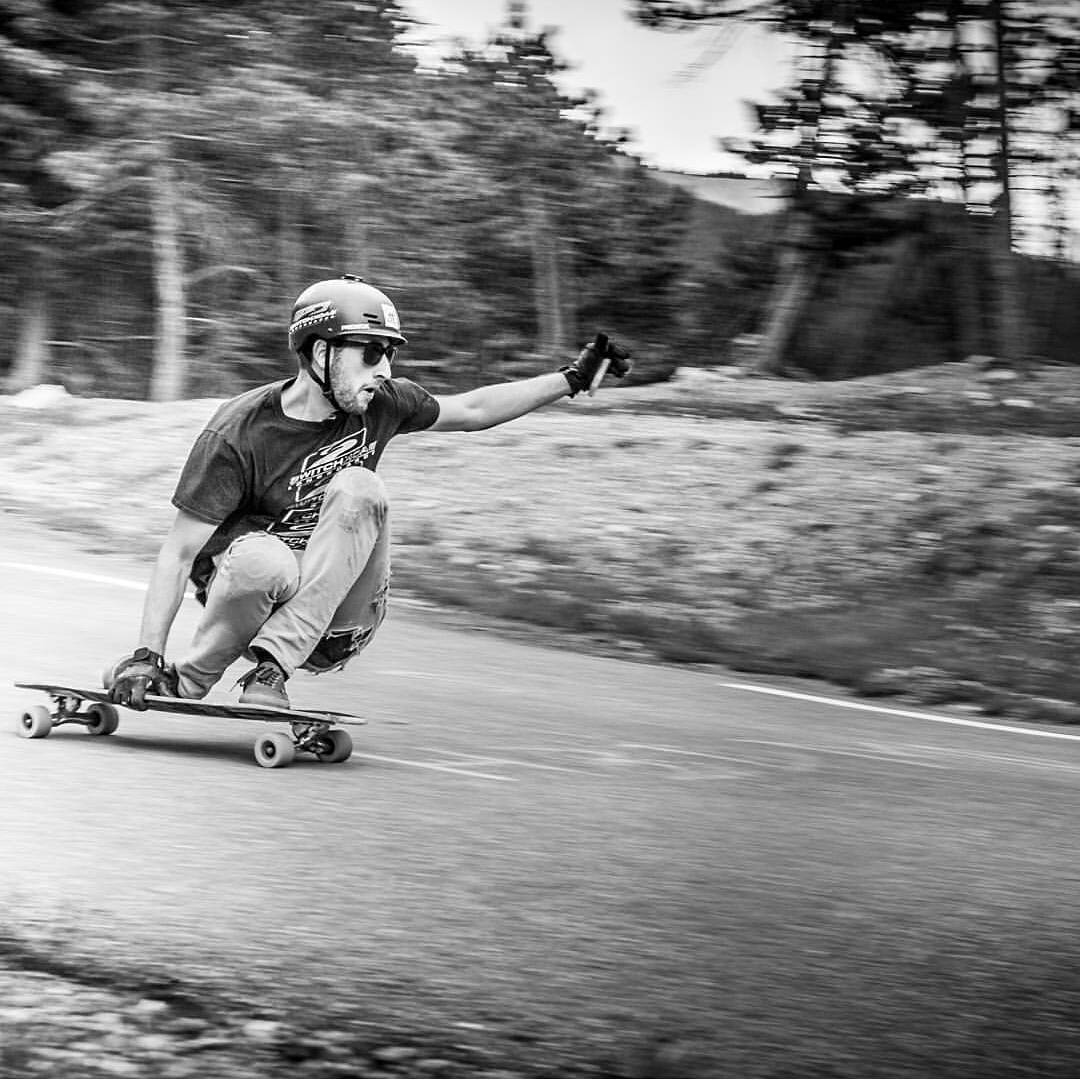 #regram from @orangatangwheels of #rayneteam rider @lukemelon shredding during his euro tour!  Photo @melvinherrmann