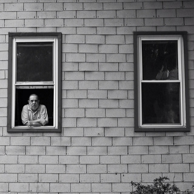 Old man in the window shot by @timshootsppl for issue 35. #steezmagazine #steez #oldman #window #issue35 #influentialculture