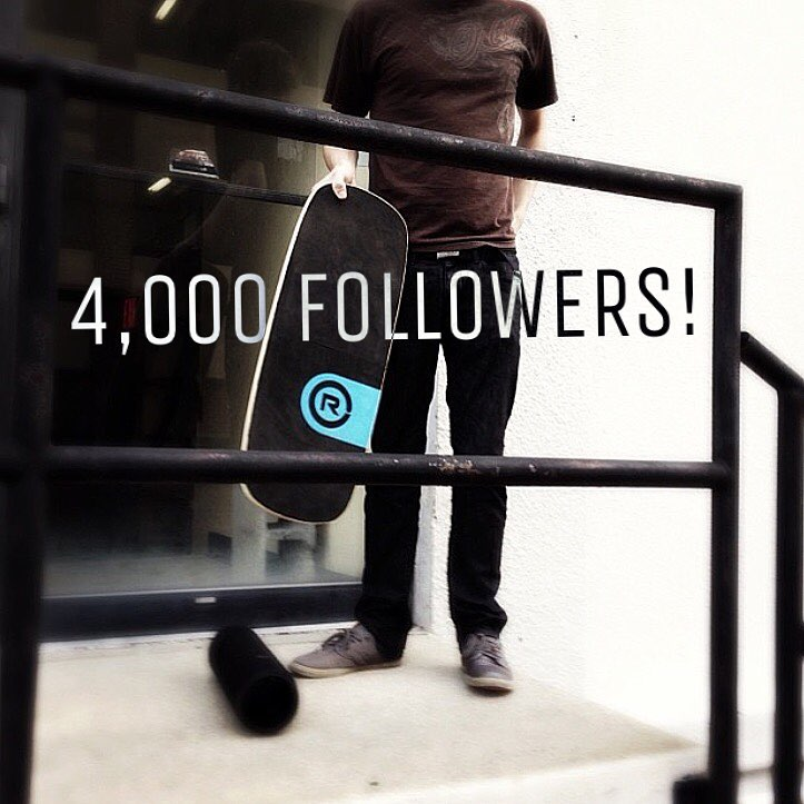 Revbalance hit 4,000 followers today on our Instagram page!