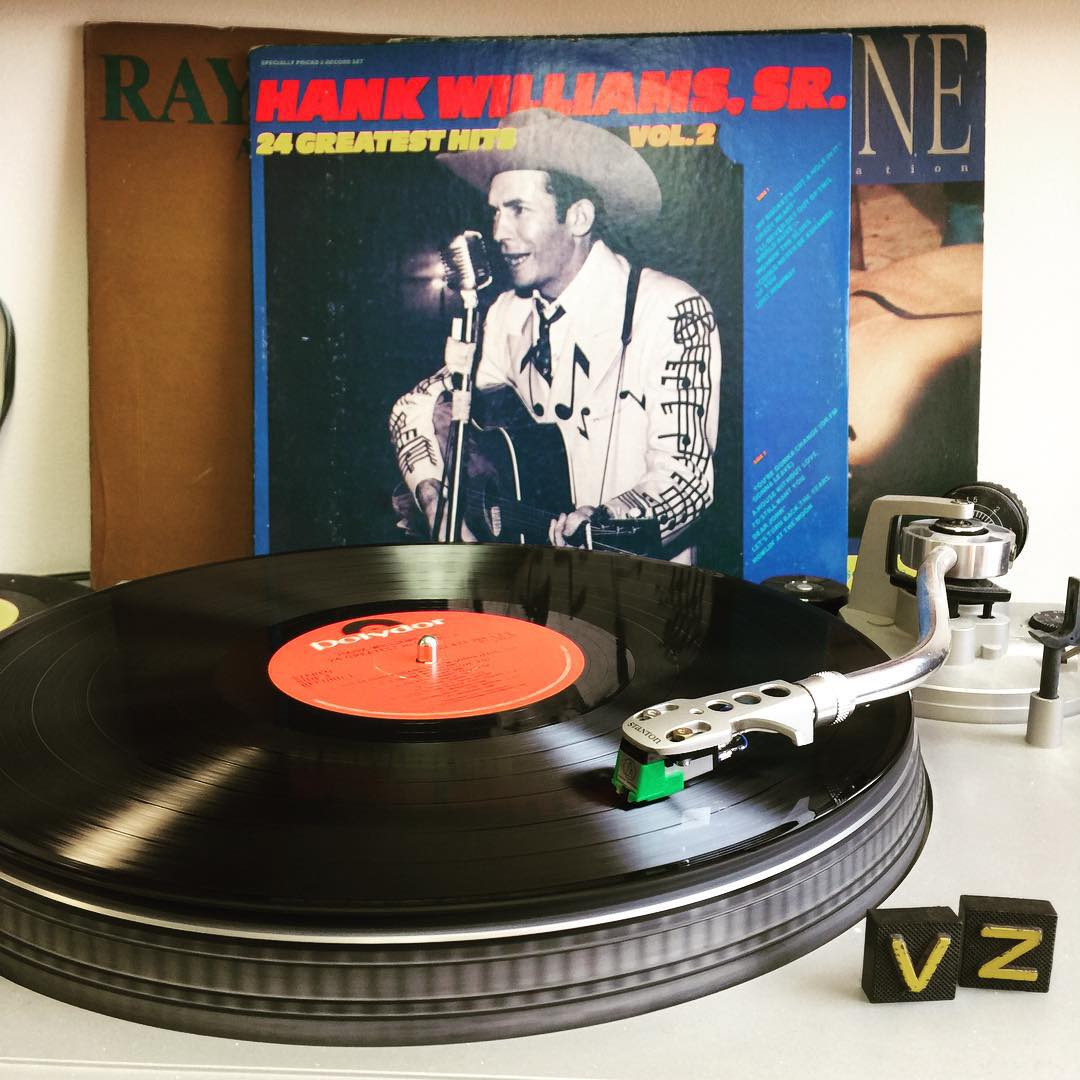 Even if all the lies were true, I know I'd still want you. #TurntableTuesday #HankWilliams #VonZipper