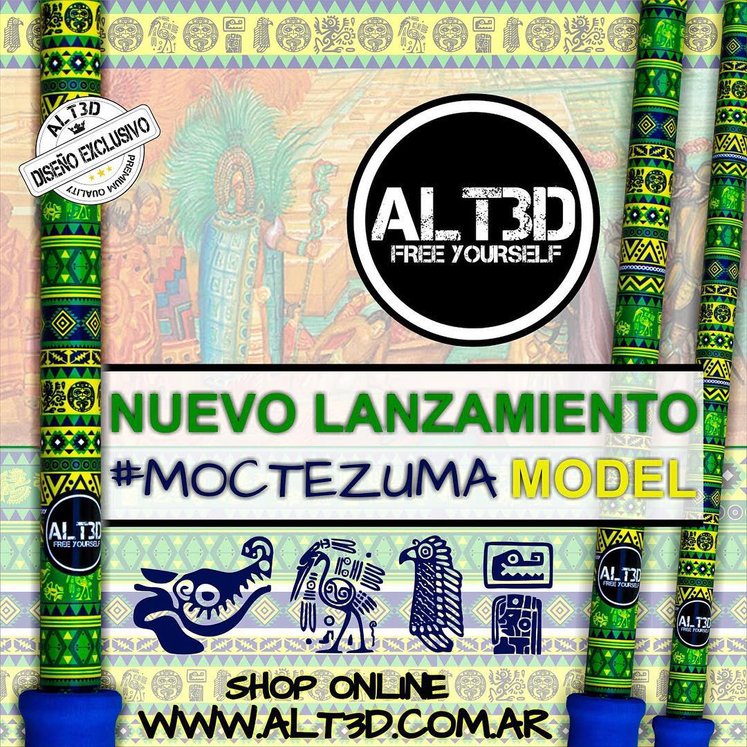 ESPECTACULAR PROMO LANZAMIENTO #MOCTEZUMA MODEL, EXCLUSIVO @alt.3d !!!