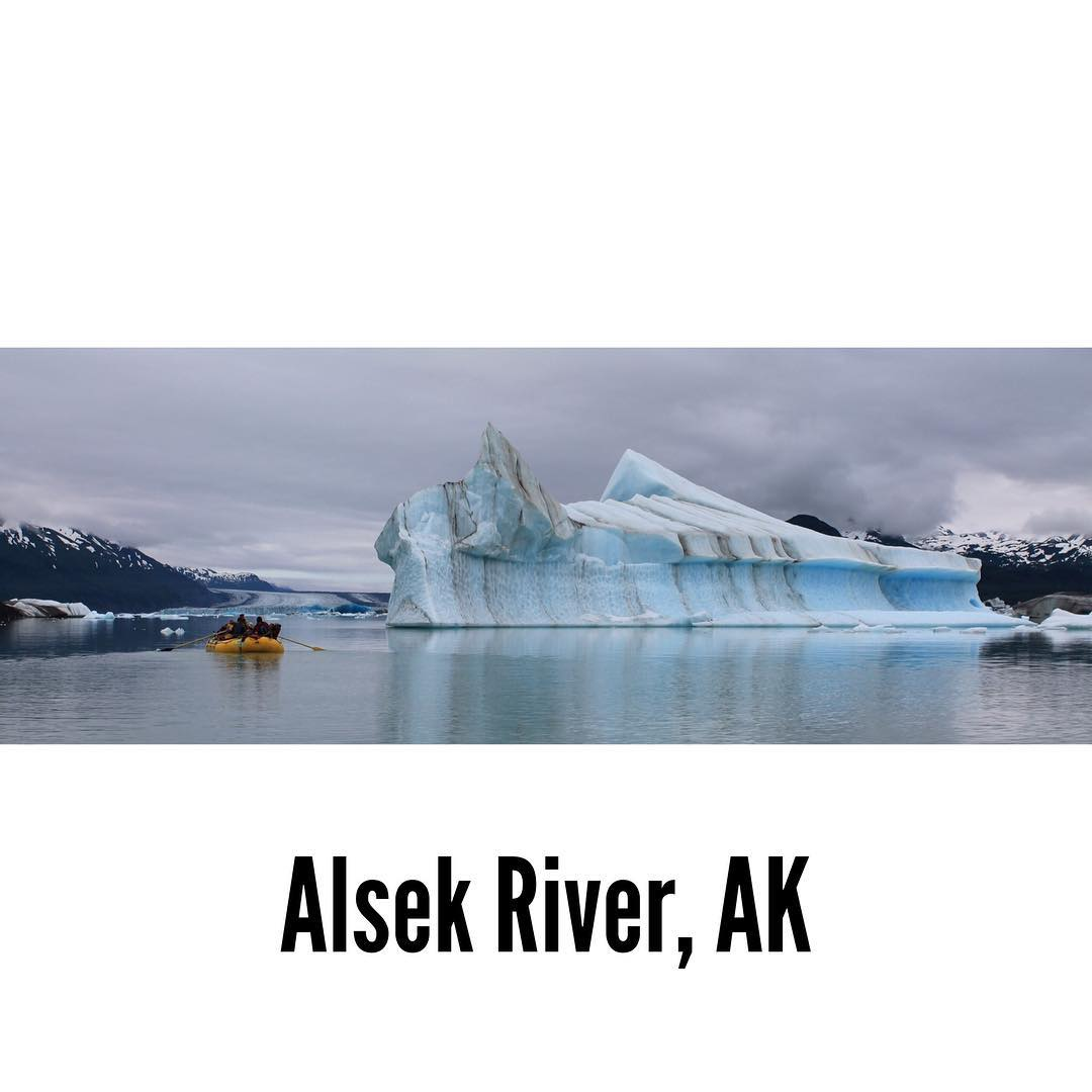 ALASKA! You called and I answered! 12 day river trip on the Alsek River with @mtsobek?!? SOLD! #neverstopexploring