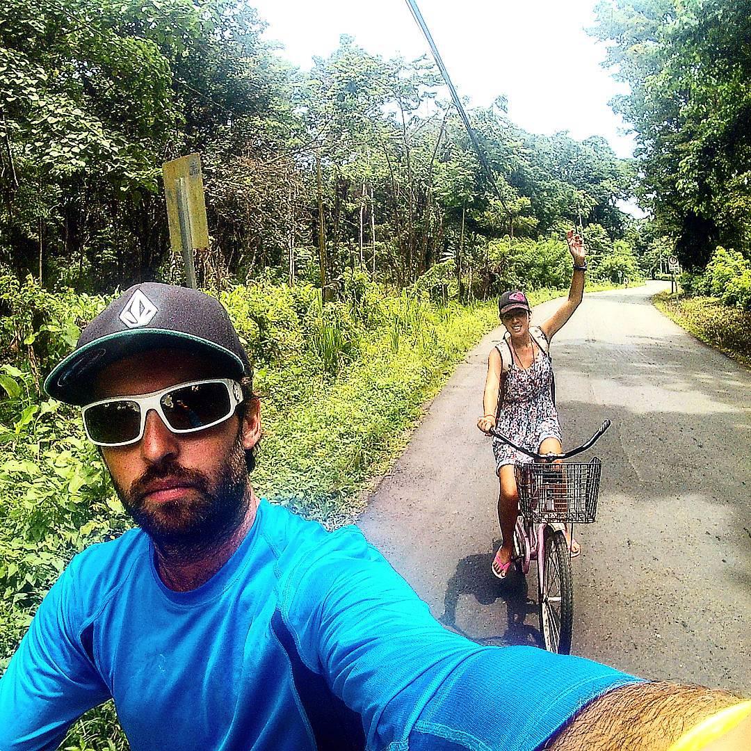 #paseanding en bici por #puertoviejo #limon #CostaRica #PuraVida