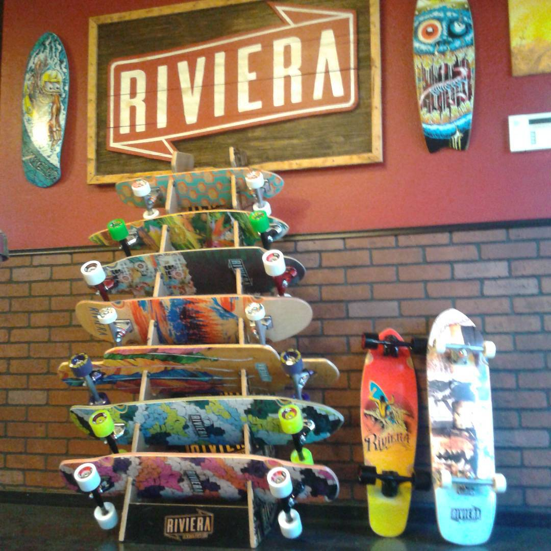 The @skateriviera team is hitting the streets tomorrow with this fresh batch of boards from our 2016 line. If you see them buy them some Dr. Peppers and Funyons. #futureclassicsessions