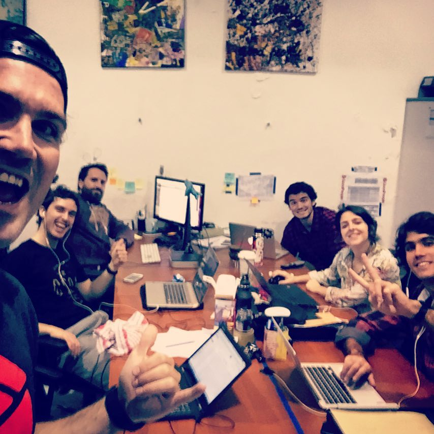 So pumped to be back in Argentina with the @goodpeoplecom team. Here are just a few of the 20+ awesome people in the office down here. If you're ever traveling down in buenos aires, make sure you swing by the office and pick up some swag!...