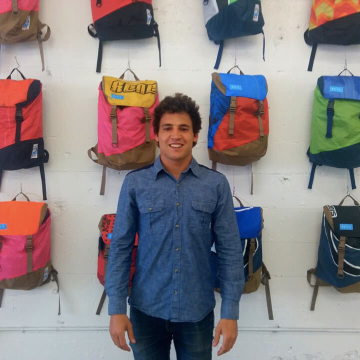 Brings The Ocean Inland With New Howard Street Factory Store Mafia Bags turns used kite- and windsurfing sails into one-of-a-kind totes, backpacks and accessories, but it's no surf shop, said co-founder and CEO Marcos Mafia. Instead, it's about...