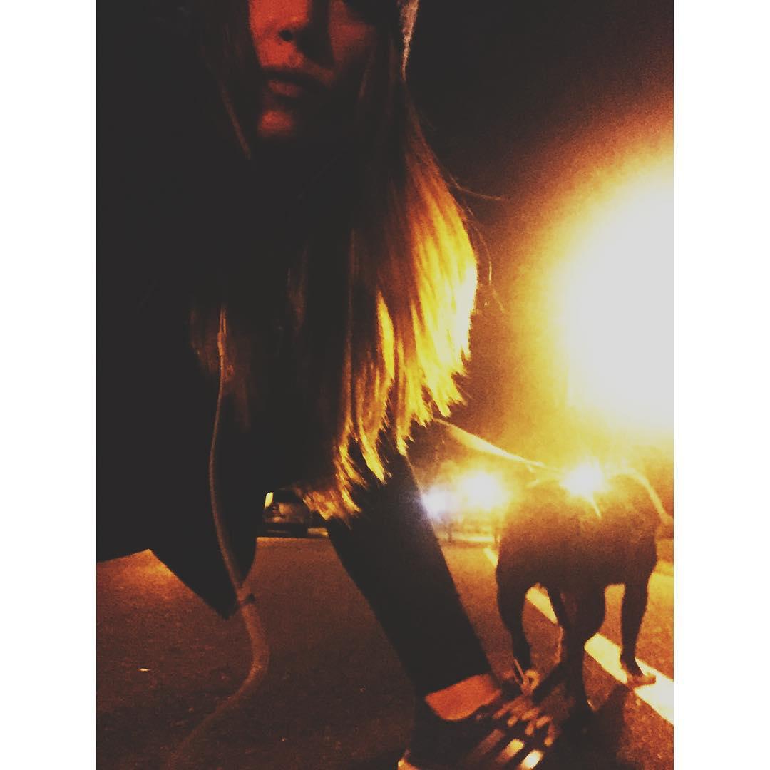 Night hike ....☝