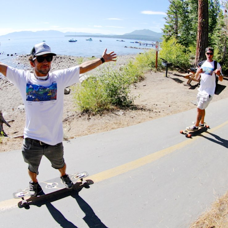 B4BC's 11th annual Skate The Lake #longboard-a-thon is THIS WEEKEND! Congrats to last weeks contest winner @steph_t7 for winning the @tahoelongboards giveaway, and now we're back with 2 more extra prizes, on top of what you can already win from @gopro,...