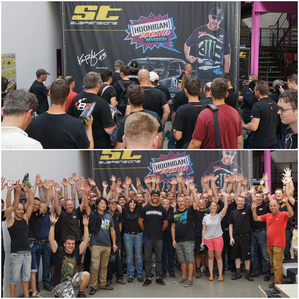 Big thanks to everyone at @STsuspensions for their hospitality during my visit to their headquarters in Germany! Even though I was battling a cold the whole time, I was still stoked to sign autographs for all the employees and see the process of making...