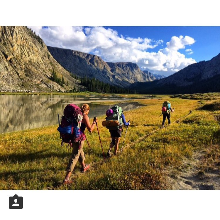 The girls are getting after it again, this time on an adventure in the Wind River mountains. Where will your adventure take you?