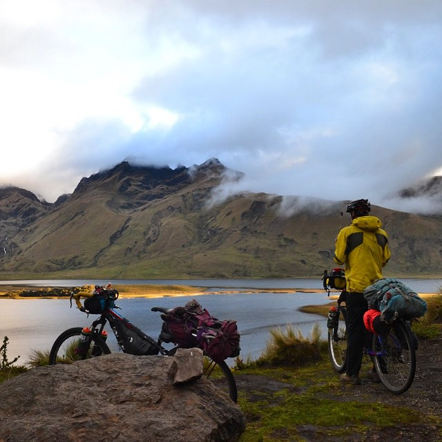 Danny Walden and Tamara Perreault are biking and backpacking the globe, from top to bottom, and collecting data for #ASCRoadkill along the way.  14 months ago, they started up north in Deadhorse, AK and will end up in Ushuaia, Argentina—the...