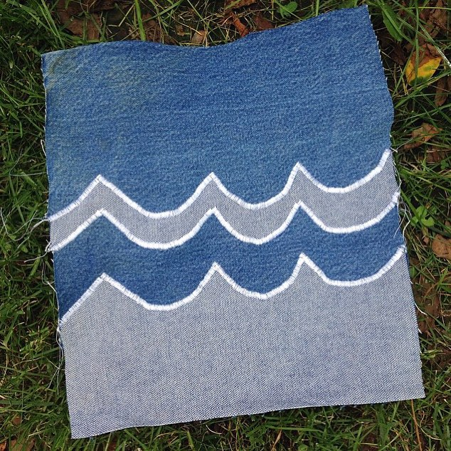 "@1percentftp's Memebership Manager @paulinejstevens has been busy making waves on her ""Your Denim. Our Water."" submission. Artwork drop off takes place from August 19th - August 25th at the 1% for the Planet HQ. We can't wait to see what you come up..."