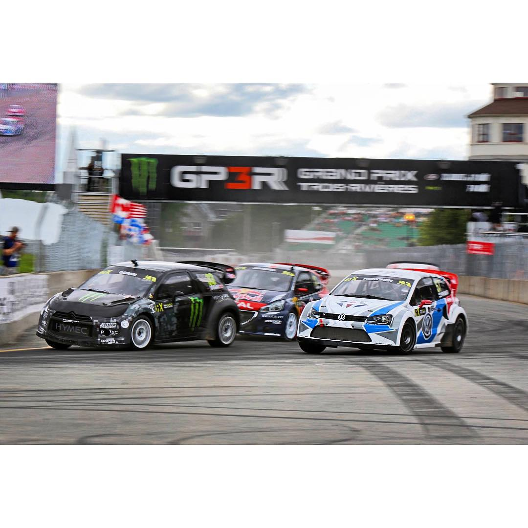 Leading the pack during a heat race at GP3R, Trois Rivieres in Canada last weekend, looking forward to heading to Norway next week for my favorite event of the year.