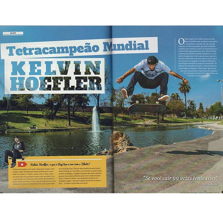 @kelvinhoefler é um dos destaques da Revista @rapnacional. Saiba mais em www.qix.com.br  #qixteam #qix #skate #skateboard #skateboarding #KelvinHoefler #rap #Brasil #revista #entrevista #skateboardminhavida