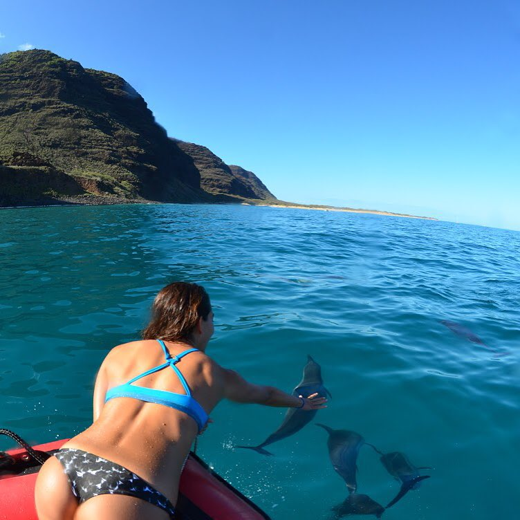 #miolagirls are friends with dolphins
