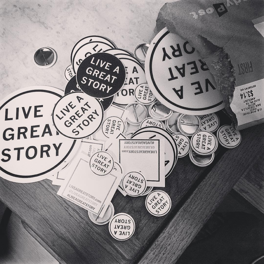 Got that special delivery from @liveagreatstory