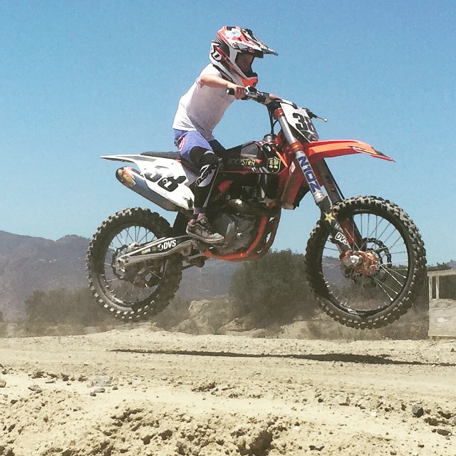 You all said to put him on a bigger bike with more power !! . Is the 450 good enough for @dangerboydeegan