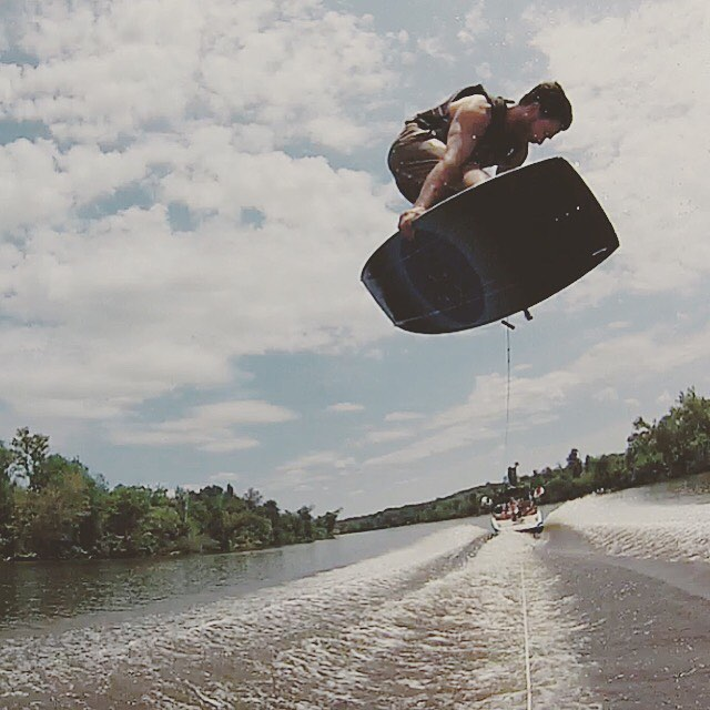 @markrugala's gone fishing with his O'Shea Pro 144.  Now's your chance to pick one up for 30% off on www.humanoidwake.com!  Use Promo Code: SUMMER30  #wakeboarding #fishingwithdynamite #ridethebestforless