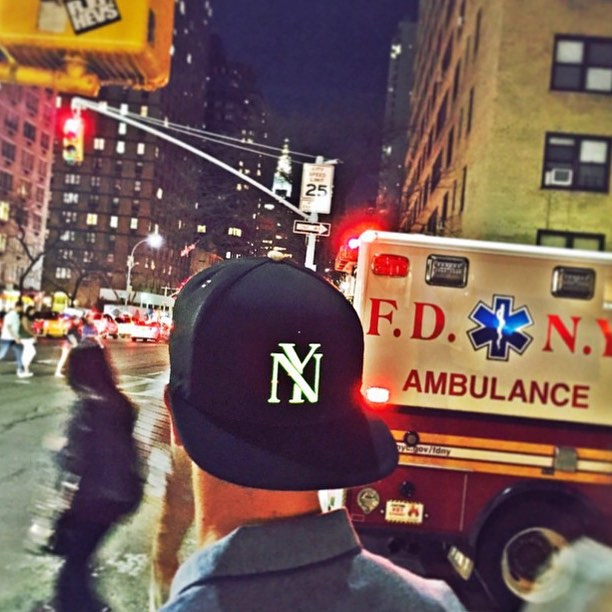 SPOTTED: Our #Lumativ E5 NY #snapback on the streets of Manhattan. Always standing out, even when the streets are busy.