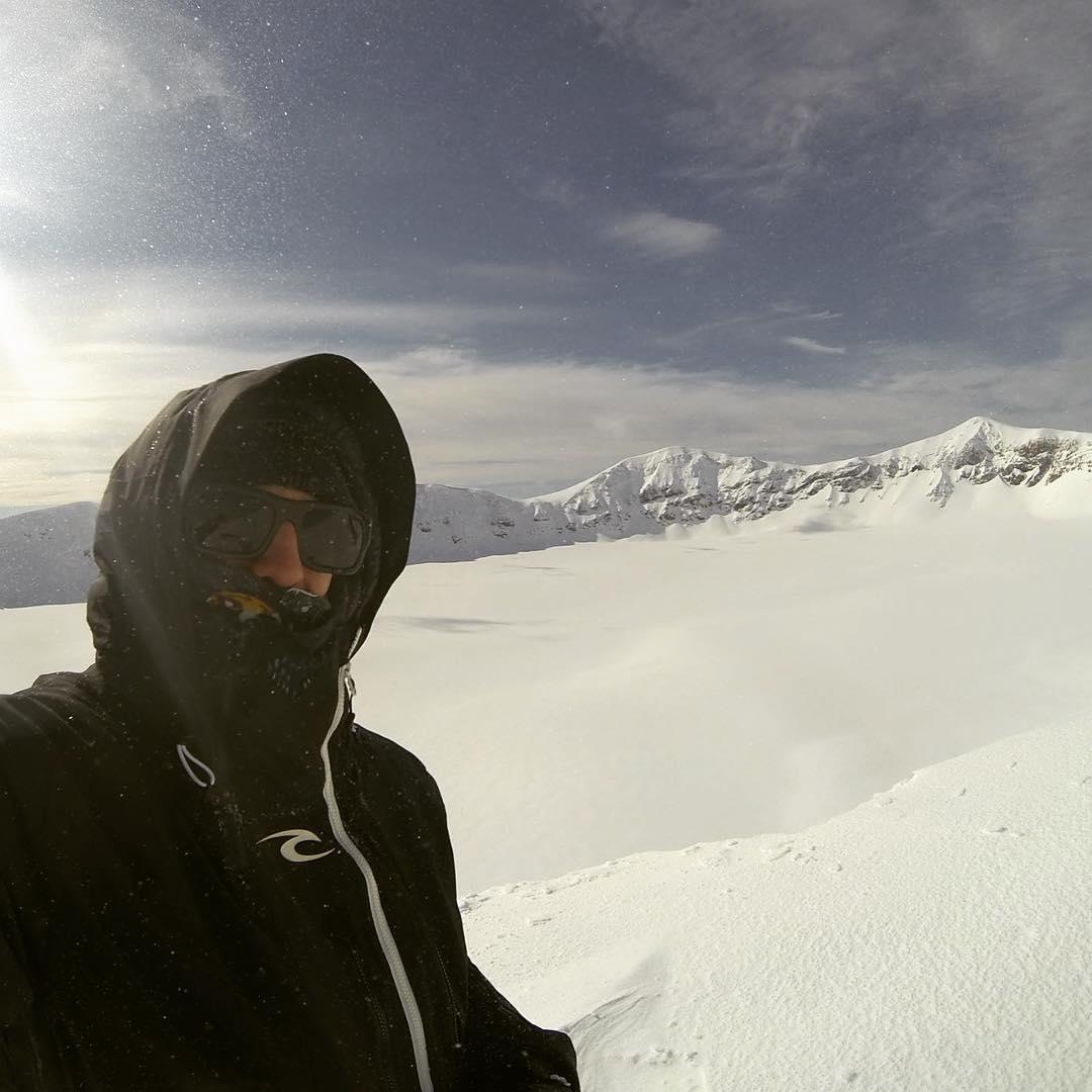 Cráter de nuestro amigo Volcán Puyehue! @ripcurlargentina #thesearch @bqpfilms #embajadordelosandes #caulle #chile #splitboarding #sudamerica