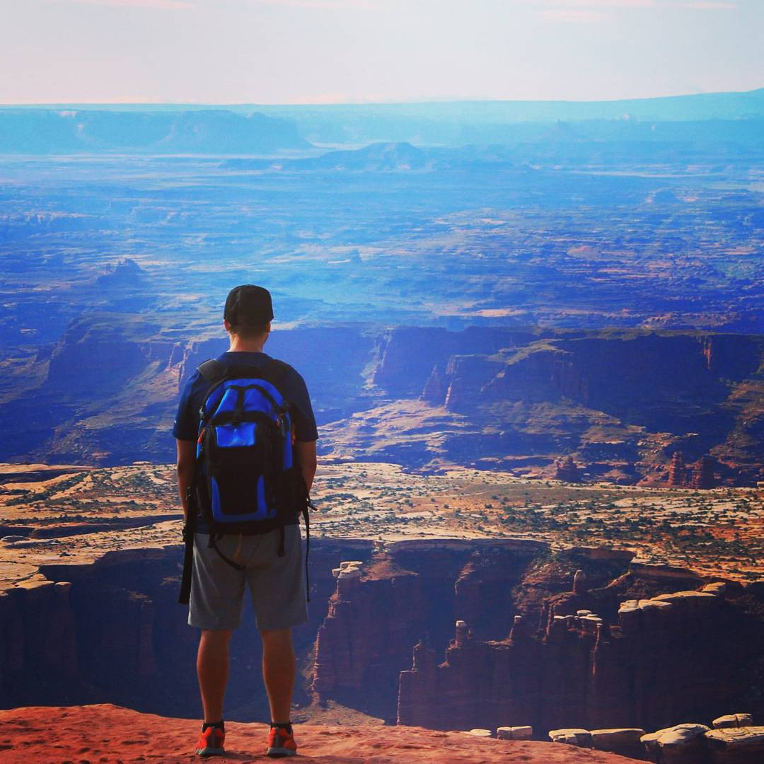 How would you describe this view? #adventure #nationalparks #outdoors #unrealviews #backpacks #coolers #graniterocx