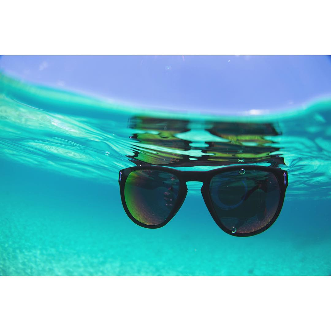 We designed the H2O Floatable Collection with the intention of you never losing your sunnies in the water again. However, if you have to go for a swim to recover your shades we hope it's in pristine waters like this!