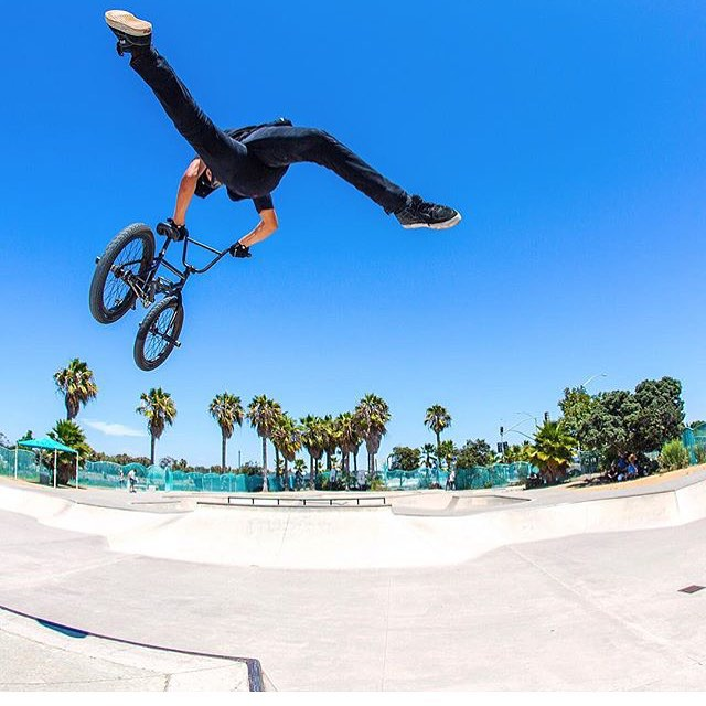 We're stoked to see @_parkerheath back on his bike and ripping! | #Repost @vitalbmx |